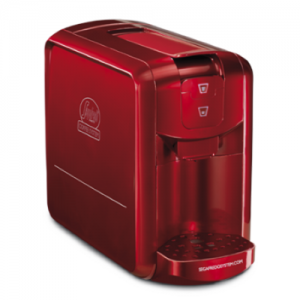 Segafredo Espresso 1 espressomachine rood
